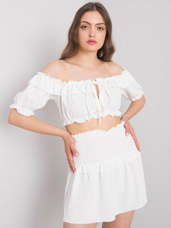 Biała mini spódnica Joanna OCH BELLA