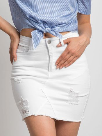Biała spódnica Vibe