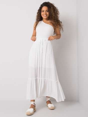 Biała spódnica z falbaną Annabeth OCH BELLA