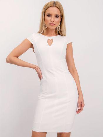 Biała sukienka Hazel