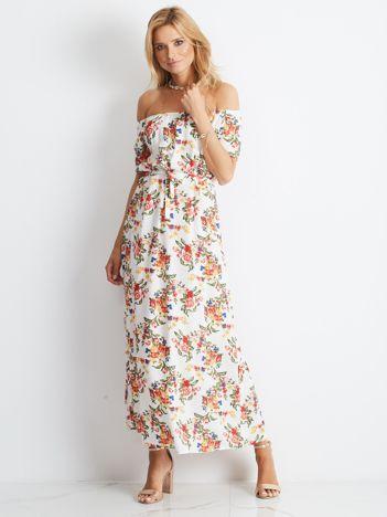 Biała sukienka Ibiza