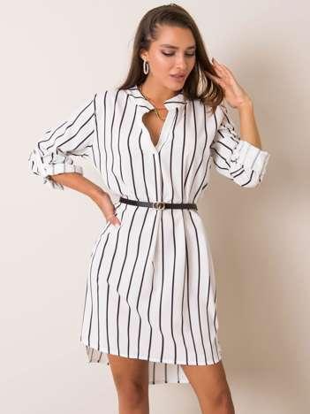 Biała sukienka Odelle
