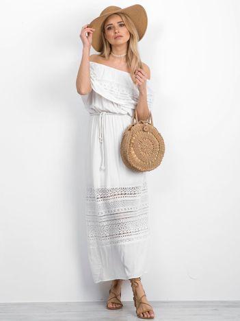 Biała sukienka Runway