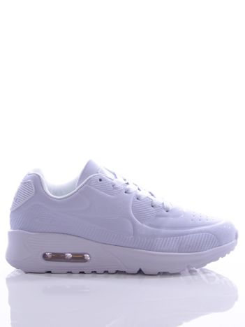 Białe buty sportowe z poduszką powietrzną