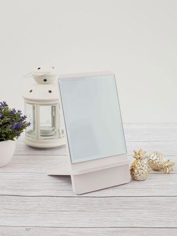 Białe lustro stołowe