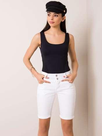 Białe szorty Jessica SUBLEVEL
