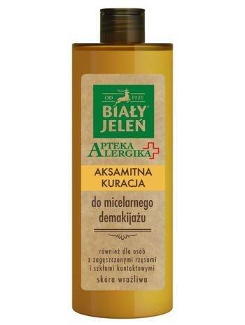 Biały Jeleń Apteka Alergika Aksamitna kuracja do micelarnego makijażu 400 ml