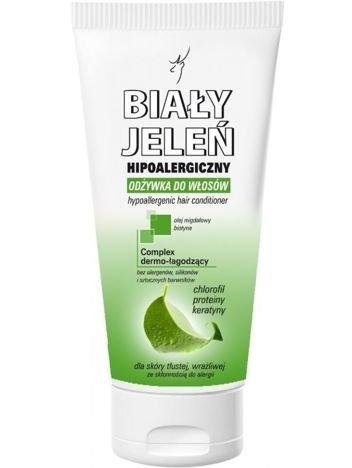 Biały Jeleń Odżywka hipoalergiczna do włosów przetłuszczających się 200 ml