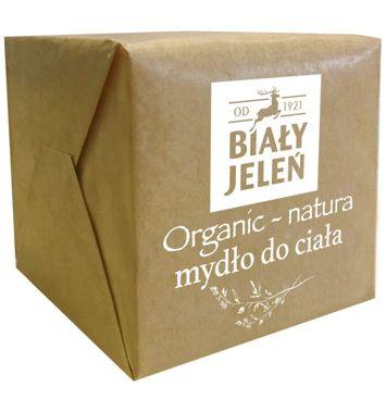 Biały Jeleń Organic-Natura Mydło do ciała - kostka  170 g