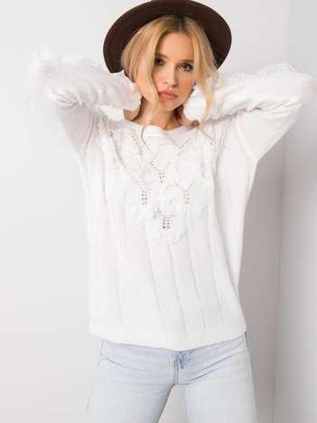 Biały sweter Adriana