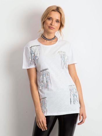 Biały t-shirt Rendezvous