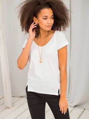 Biały t-shirt Vibes