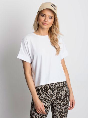 Biały t-shirt Woodland