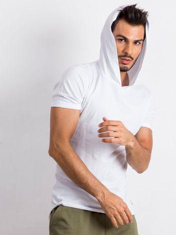 Biały t-shirt męski Lifter