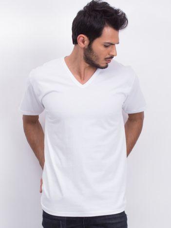 Biały t-shirt męski Lightweight