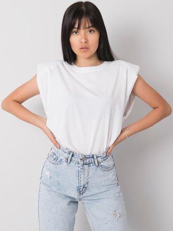 Biały t-shirt z bawełny Endless