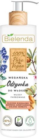 """Bielenda 100% Pure Vegan Wegańska Odżywka do włosów farbowanych  240ml"""""""