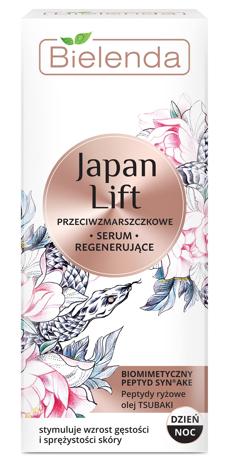 Bielenda Japan Lift Regenerujące Serum przeciwzmarszczkowe na dzień i noc 30 ml