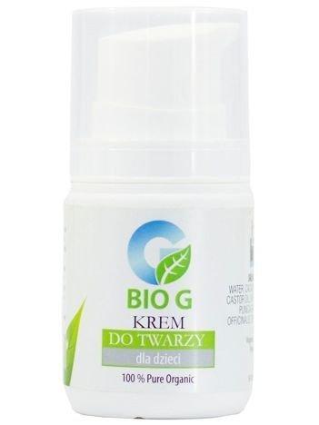 BioG Naturalny krem do twarzy dla dzieci 75 ml