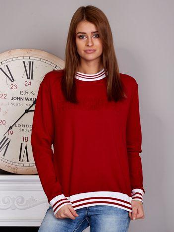 Bluza damska z hasztagiem 3D czerwona