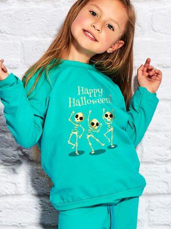 Bluza dziecięca z nadrukiem na Halloween morska