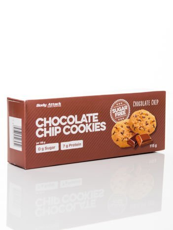 Body Attack - Ciasteczka Low Carb Cookies chocolate chip