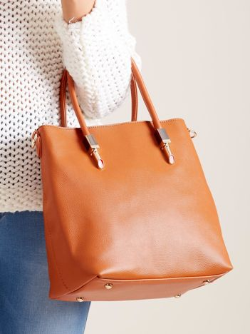 Brązowa damska torba na ramię