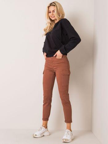 Brązowe spodnie Chicago SUBLEVEL