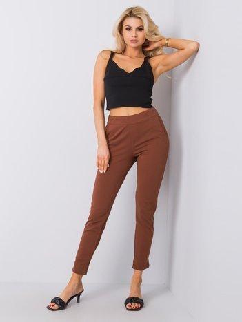 Brązowe spodnie Nina