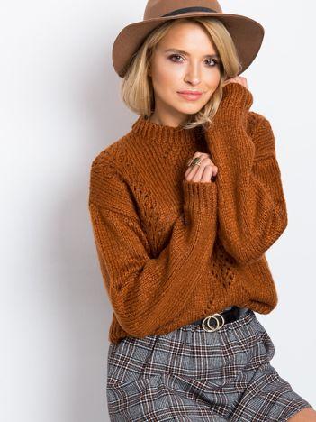 Brązowy sweter Luca