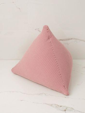 Brudnoróżowa poduszka dekoracyjna