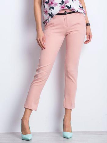 Brudnoróżowe spodnie Civilian
