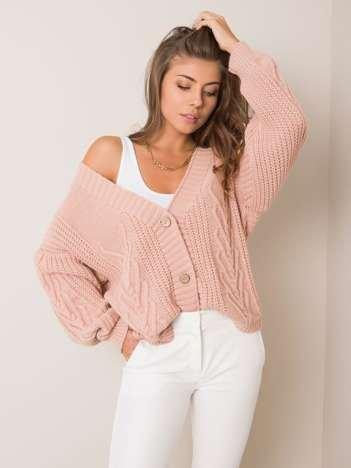 Brudnoróżowy sweter Gianna OCH BELLA