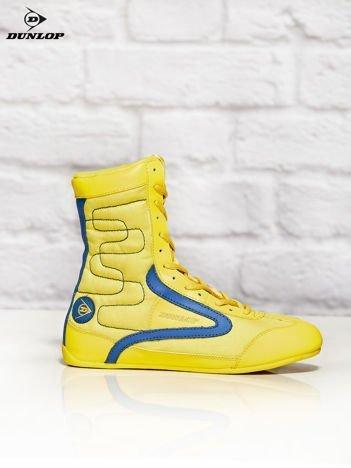Buty damskie DUNLOP BOXING SUPERSTAR żółte