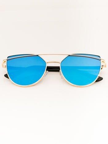 CAT EYE Damskie okulary Przeciwsłoneczne KOCIE OCZY