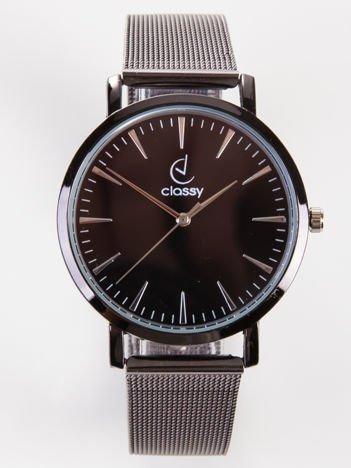 CLASSY elegancki zegarek damski na bransolecie MESH