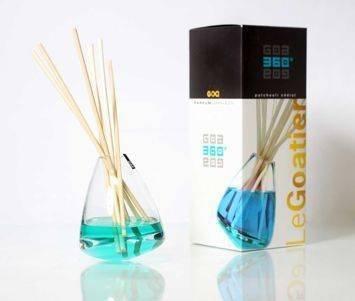 CLEM-GOA Dyfuzor zapachowy 360° 250 ml - Paczuli z cedrem