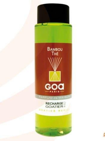 CLEM-GOA Zapas do dyfuzora zapachowego 250 ml - Bambus z zieloną herbatą