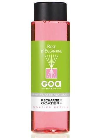 CLEM-GOA Zapas do dyfuzora zapachowego  250 ml - Dzika róża