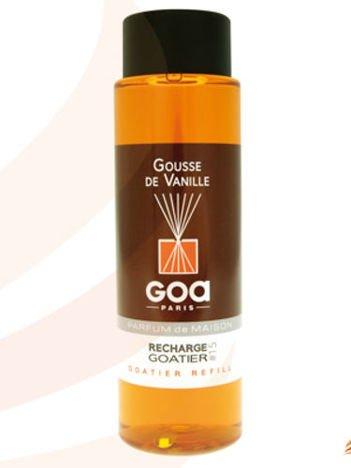 CLEM-GOA Zapas do dyfuzora zapachowego  250 ml - Laska wanilii