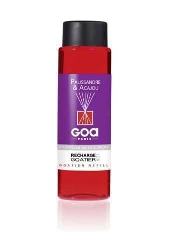 CLEM-GOA Zapas do dyfuzora zapachowego  250 ml - Palisander i mahoń