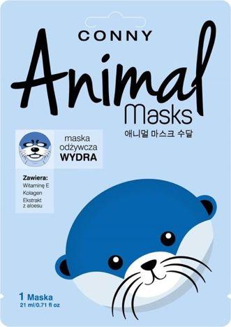 CONNY Animal Mask WYDRA odżywcza w płachcie