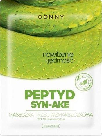 CONNY koreańska maska przeciwzmarszczkowa z jadem węża PEPTYD SYN-AKE 1 szt.