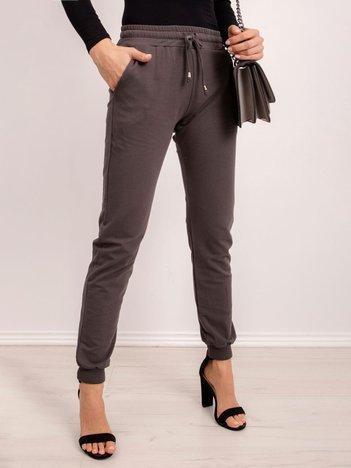 Ciemne khaki spodnie Faster