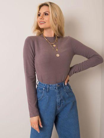 Ciemnobeżowa bluzka Stephanie FRESH MADE