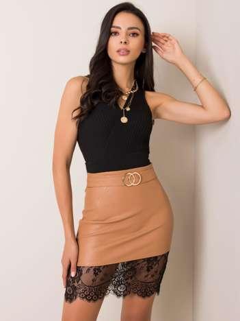 Ciemnobeżowa spódnica Lou