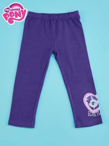Ciemnofioletowe legginsy dla dziewczynki MY LITTLE PONY