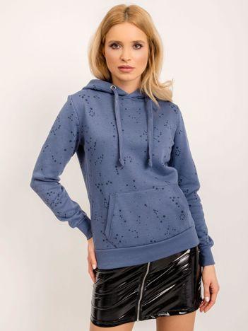 Ciemnoniebieska bluza Freya
