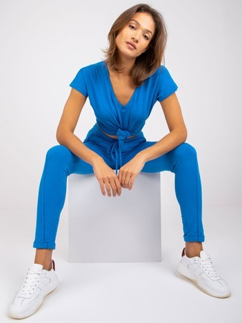 Ciemnoniebieski t-shirt Emory