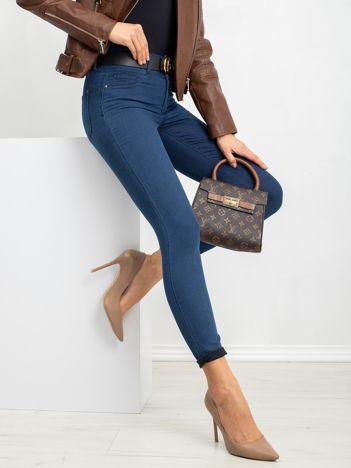 Ciemnoniebieskie spodnie Sarah